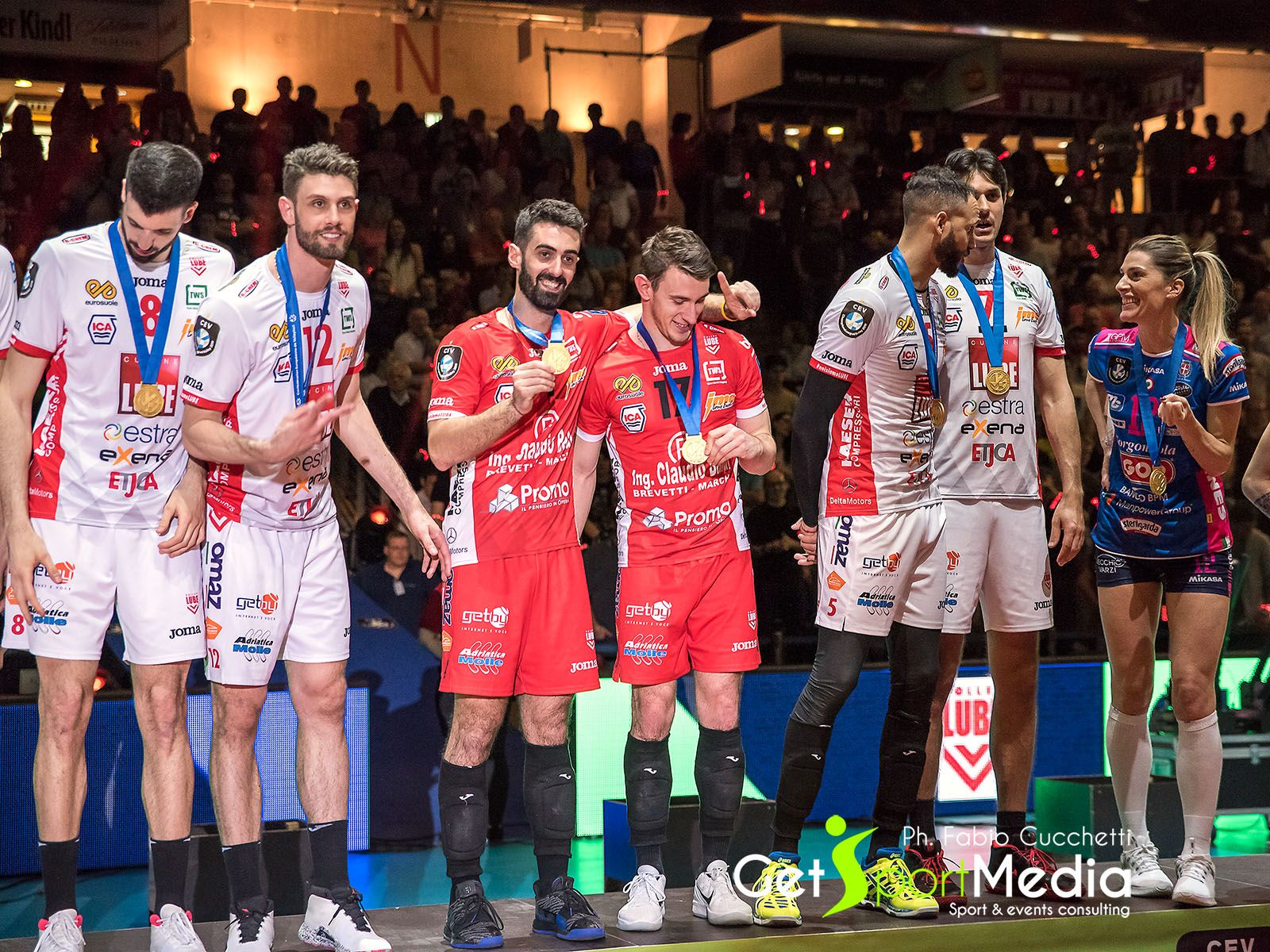 FABIO BALASO AND ANDREA MARCHISIO – GOLD MEDAL – 2019 CHAMPIONS LEAGUE