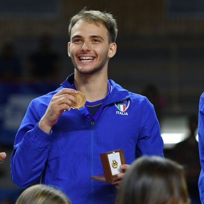 FRANCESCO ZOPPELLARI  – GOLDMEDALIST AT 2019 UNIVERSIADE