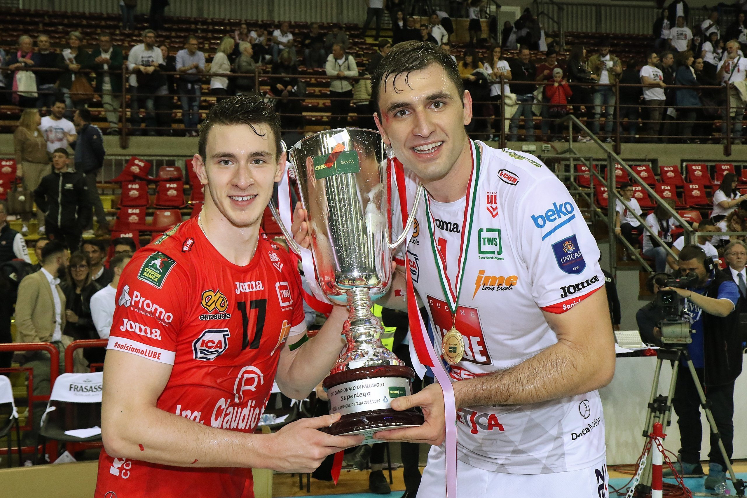 FABIO BALASO – 2019 ITALIAN SUPERLEGA CHAMPION